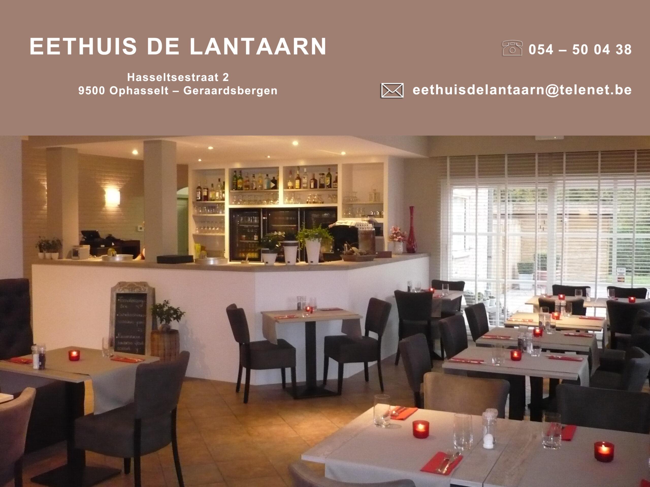 designmaker portfolio eethuis De Lantaarn