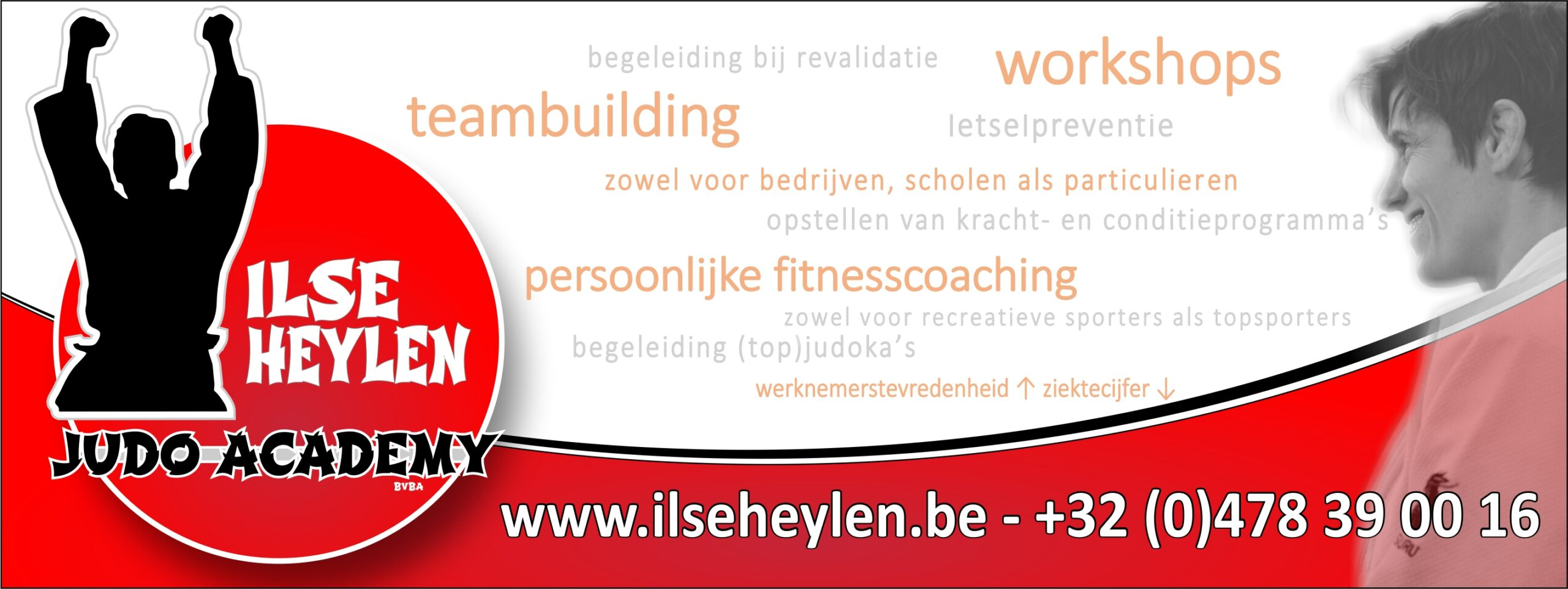 designmaker portfolio judoacademy Ilse Helyen